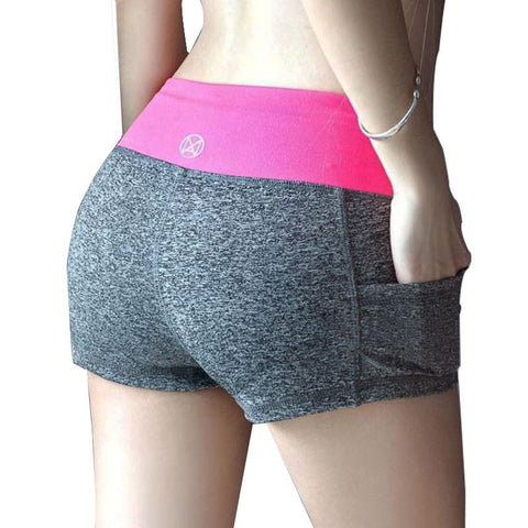 2016 Summer 11 Colors Stretch Printed Women's Running Shorts - TheOnlineClothingStore