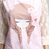 2016 Flower Girl Print Lace Pullover Women's Fashion Sweatshirts