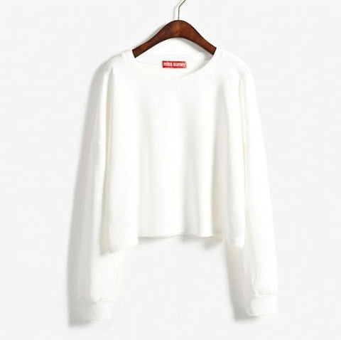 2016 Autumn Candy Colored Pullover Women's Fashion Sweater - TheOnlineClothingStore
