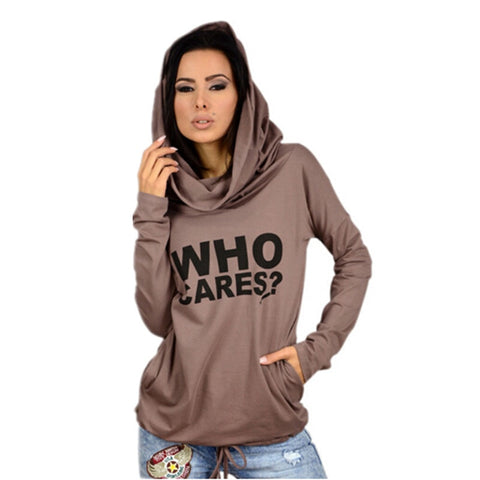 1950s 1960s Letter Print Pullover Hoodie Women's Sport Sweatshirt - TheOnlineClothingStore