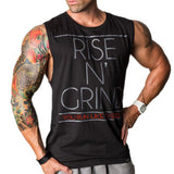 Mens Gym Bodybuilding Sport Fitness Sleeveless Singlet Tank