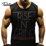 Mens Gym Bodybuilding Men Tank Top Stringer Sport Fitness Singlet Cotton Vest Clothes Golds Shirt Sleeveless Muscle Hip Hop - The Online Clothing Store