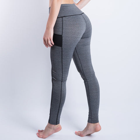 2016  Women's Sport Leggings Fitness High Waist Elastic Comfortable Super Stretch Women Leggings Workout Leggins Trousers  Pants - The Online Clothing Store
