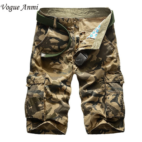 2016 Multi-Pocket Military Men's Cargo Shorts