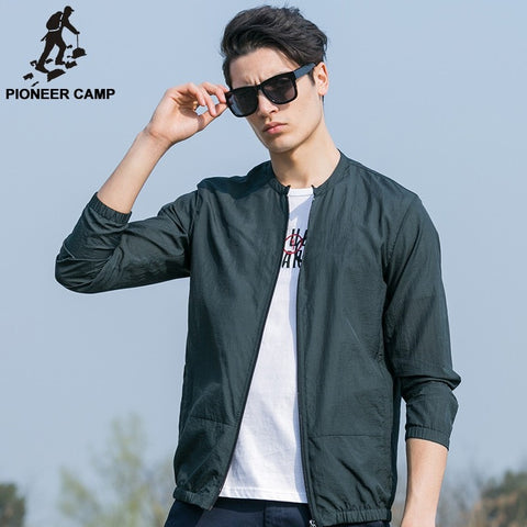 Summer Sun Protection Breathable Waterproof Men's Casual Jacket