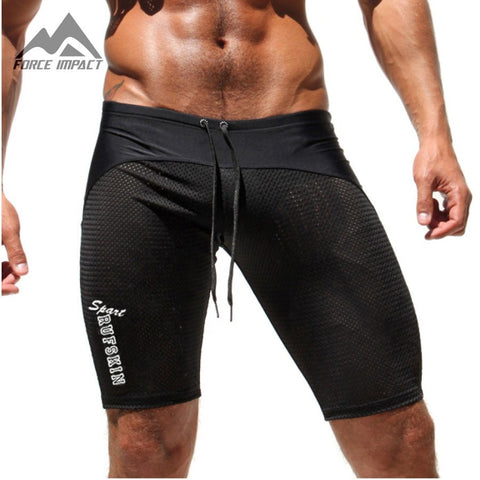 Fitness Classic Skinny Men's Tight Sportive Shorts