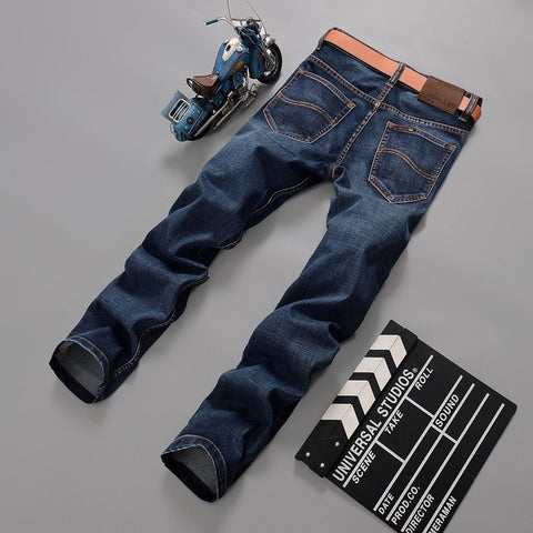 2016 Autumn Stretch Denim Jeans Men's Fashion Pants