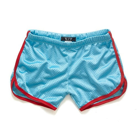 Summer Classic Solid Fast Dry Men's Cool Boxer Shorts