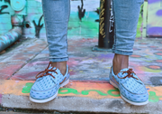 froats light blue boat shoes outdoor urban lifestyle
