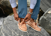 FROATS Wine and Dines boat shoe lifestyle rock
