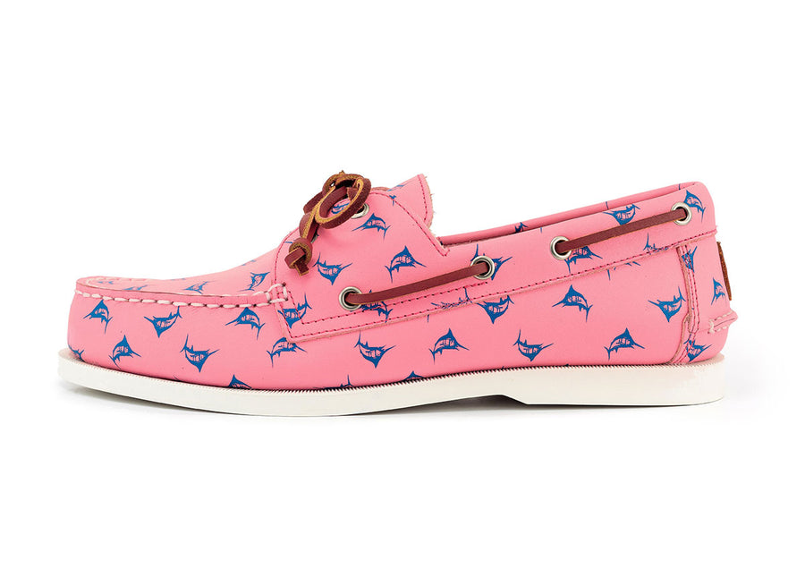 patterned pink boat shoe the anglers