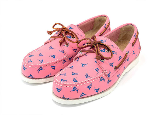 salmon color boat shoe froats the anglers