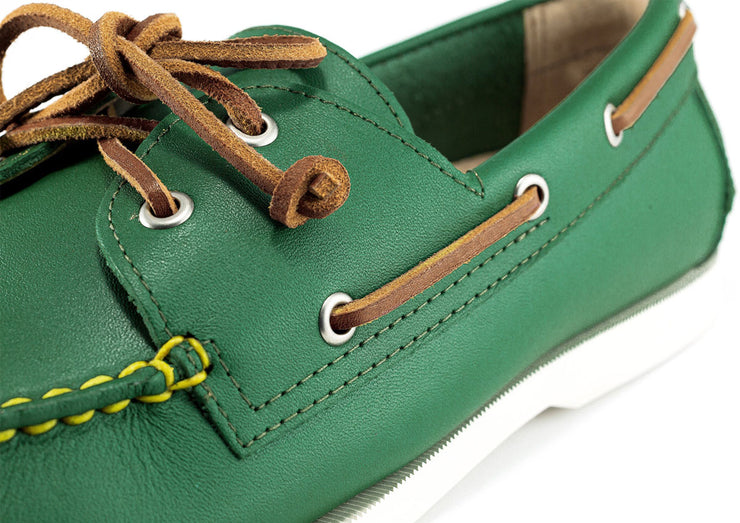 froats green boat shoe shooter mcgavins detailed view