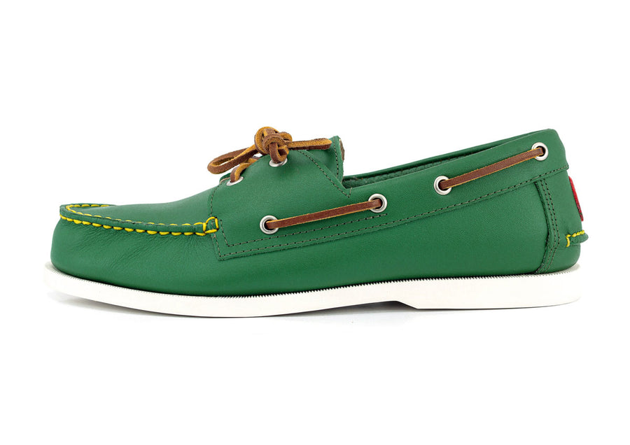 froats shooter mcgavins green boat shoe side view