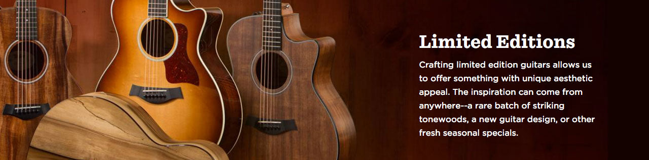 Taylor Guitars | Limited Edition Series