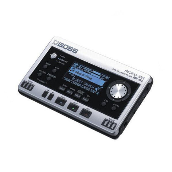 Boss Micro BR80 Digital Recorder - Guitar Galleries