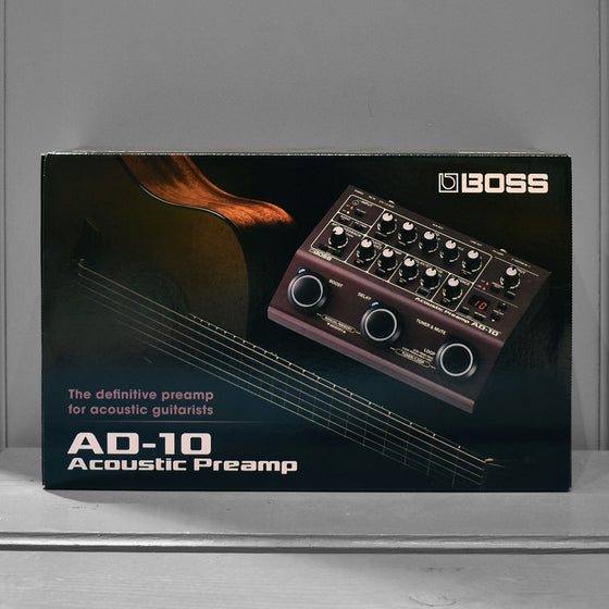 Boss AD-10 Acoustic Pre Amp and Multi Effects