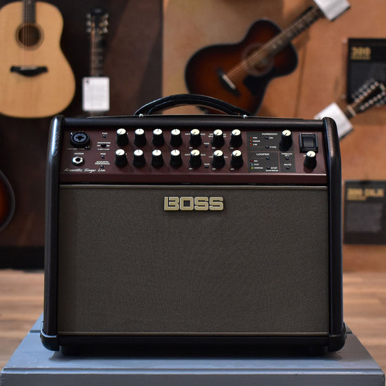Boss Acoustic Singer Live Acoustic Guitar Amplifier