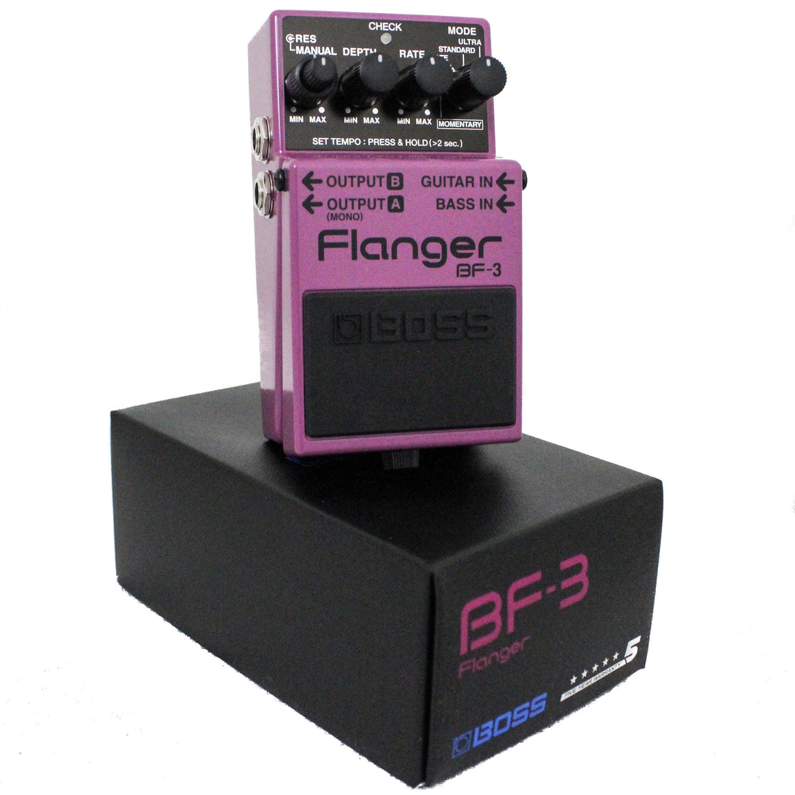 Boss BF-3 Flanger - Guitar Galleries