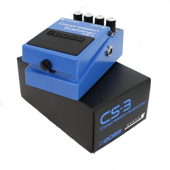 Boss CS-3 Compression Sustainer - Guitar Galleries