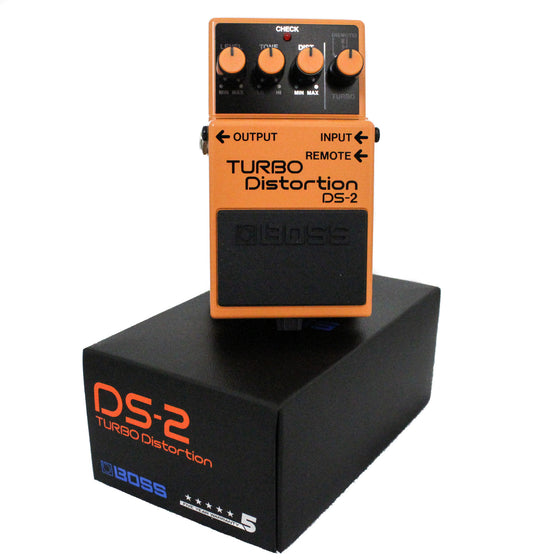 Boss DS-2 Turbo Distortion Pedal - Guitar Galleries