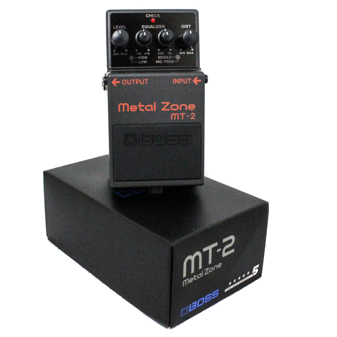 Boss MT-2 Compact Heavy Metal Pedal - Guitar Galleries