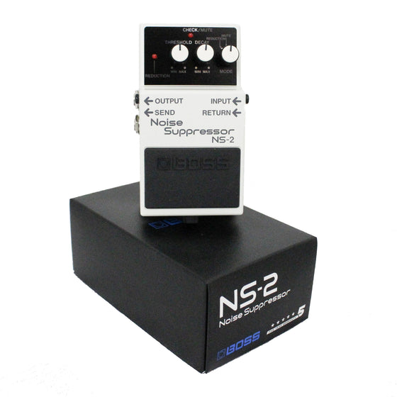 Boss NS-2 Noise Suppressor Pedal - Guitar Galleries