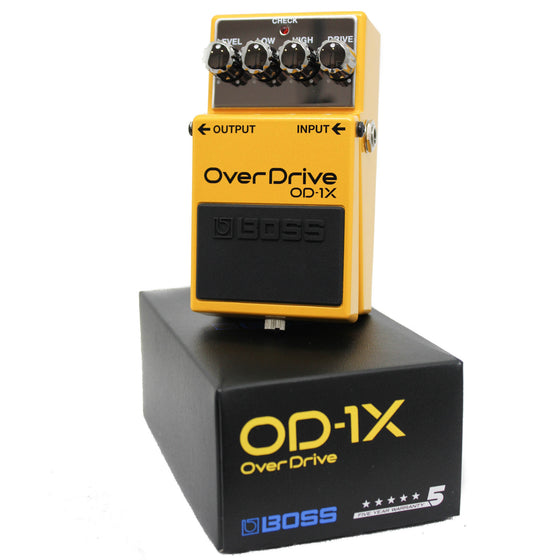 Boss OD-1X Overdrive Pedal