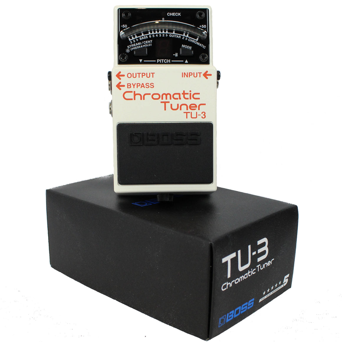 Boss TU-3 Chromatic Tuner - Guitar Galleries