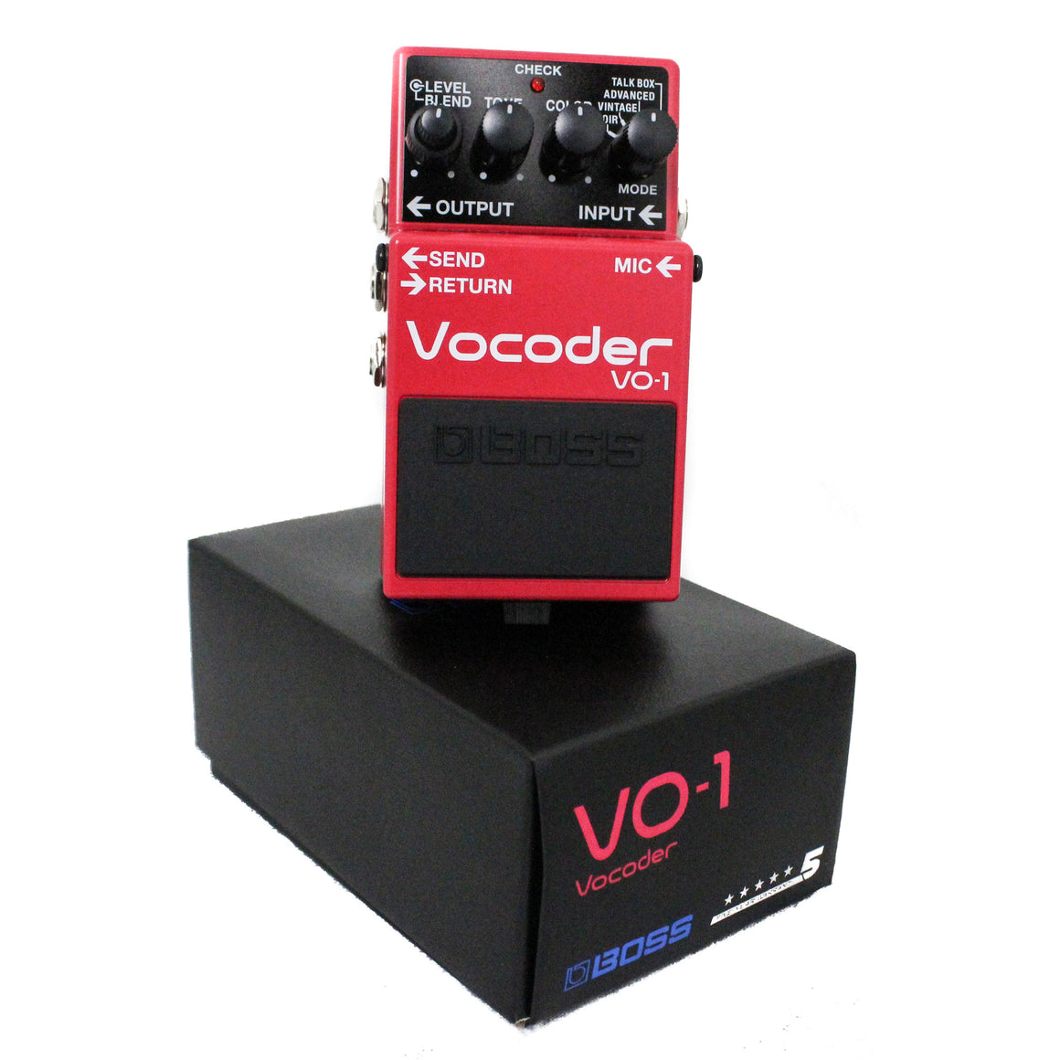 Boss VO-1 Compact Vocoder Pedal - Guitar Galleries