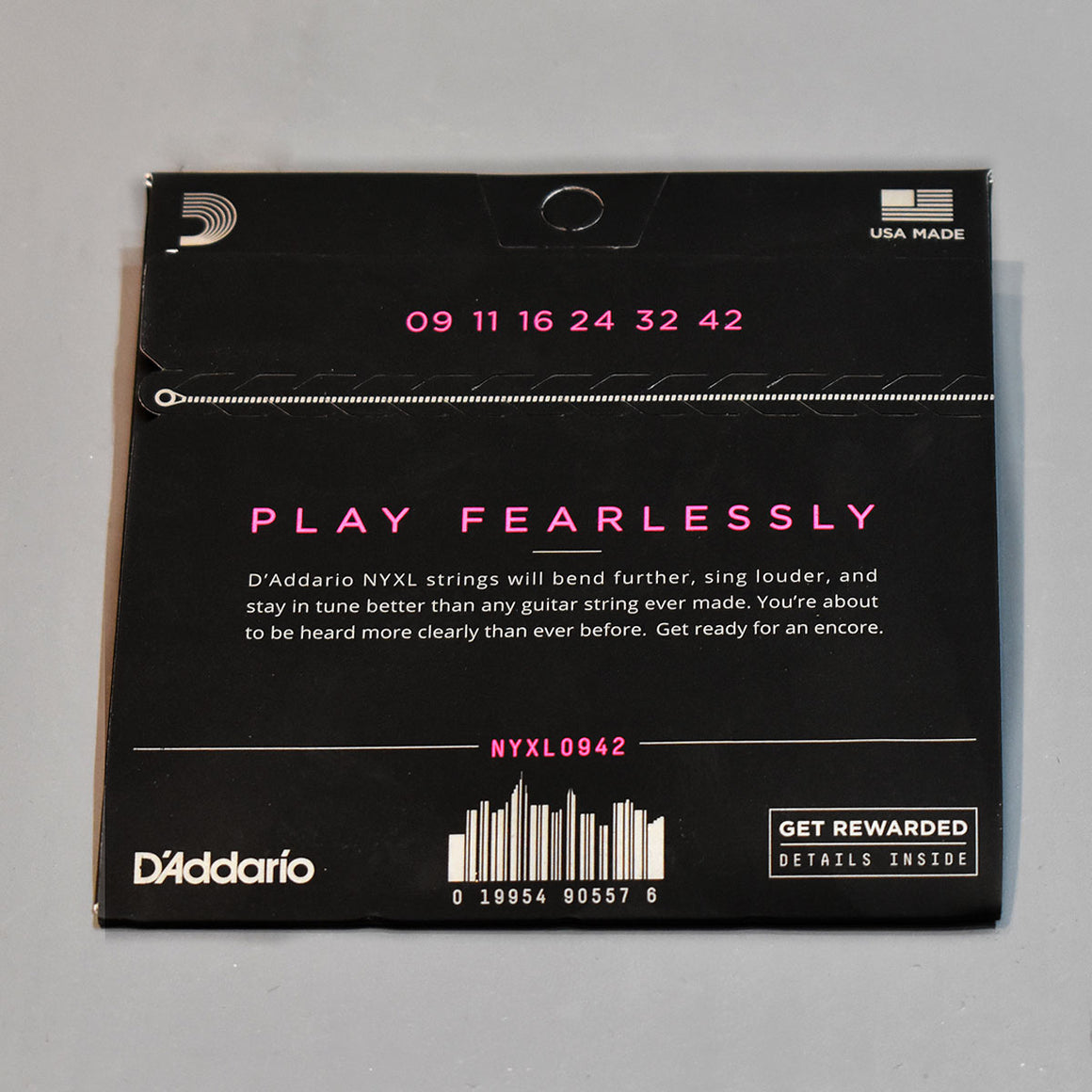 D'Addario NYXL 9-42 Super Light Electric Guitar Strings