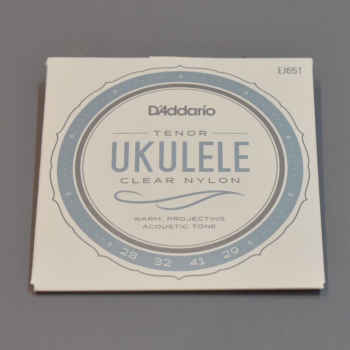 D'Addario Ukulele Tenor Clear Nylon Strings EJ65T