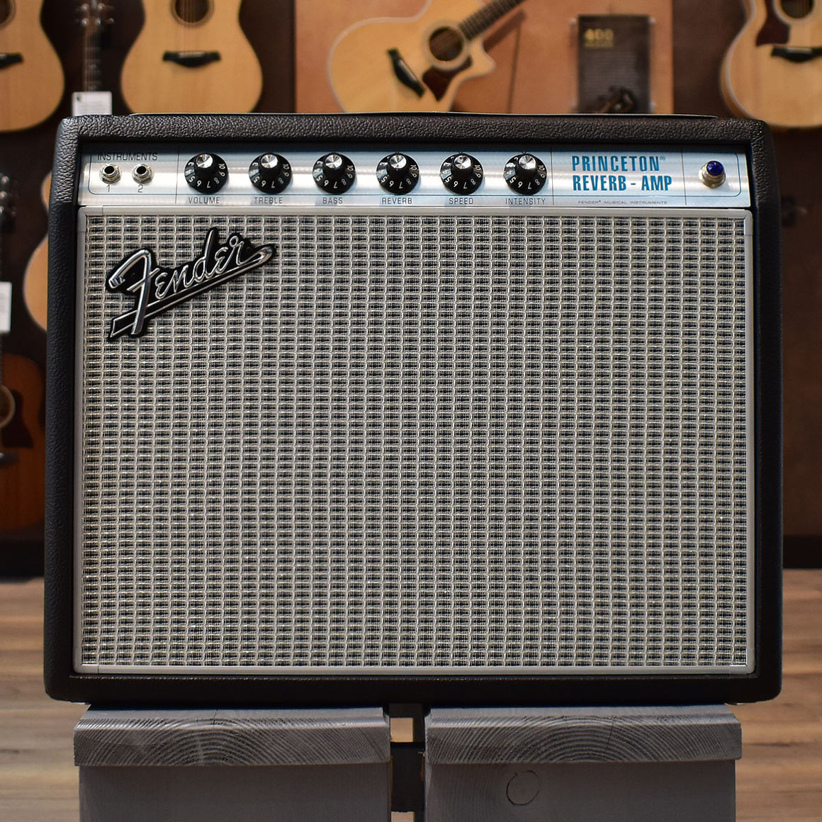 Fender '68 Custom Princeton Reverb Electric Guitar Combo Amplifier