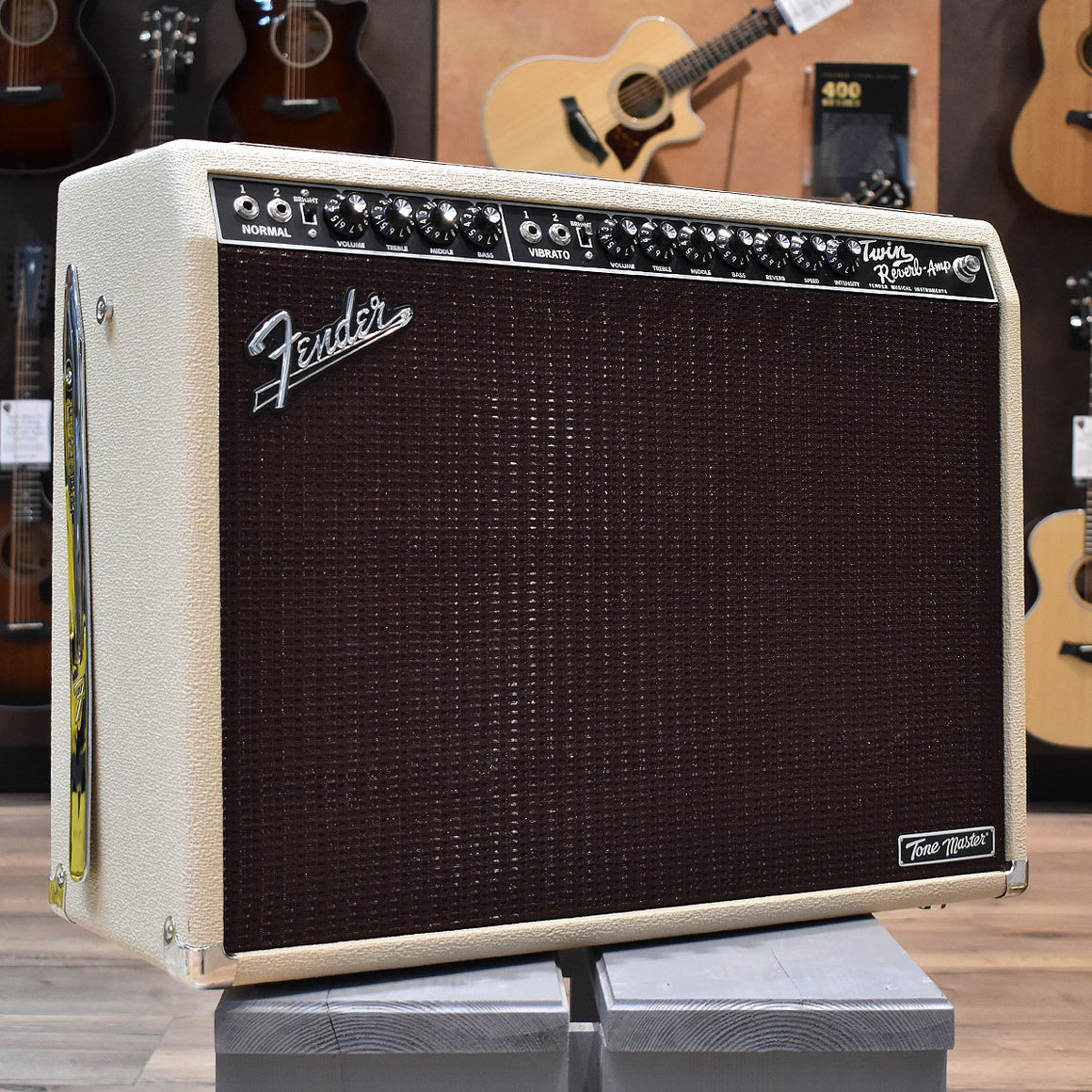 Fender Tone Master Twin Reverb Blonde Guitar Amplifier