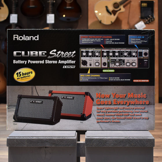 Roland Cube Street Battery Powered Amplifier - Red