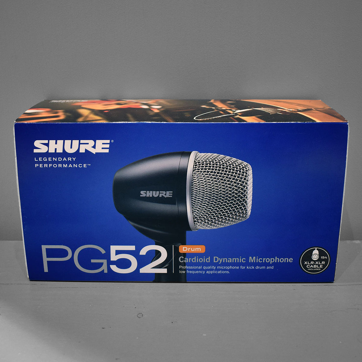 Shure PG52-XLR Dynamic Bass Drum Microphone
