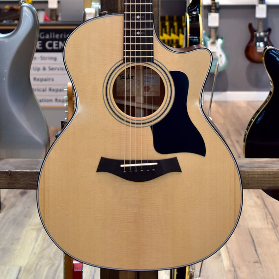 Taylor 314ce V-Class Bracing Electro Acoustic Guitar with Taylor Hard Case