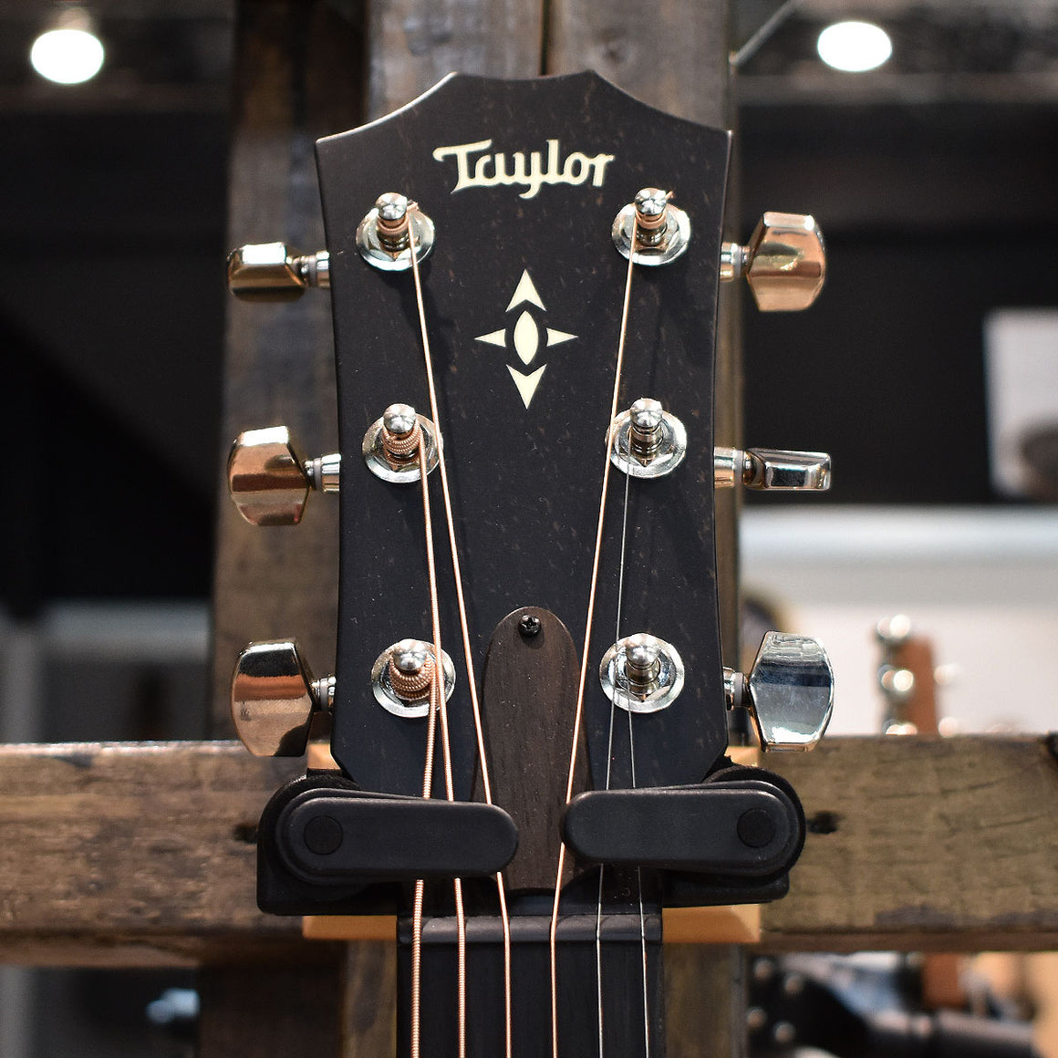 Taylor Builder's Edition 517e WHB Grand Pacific Electro Acoustic Guitar V-Class Bracing with Hard Case