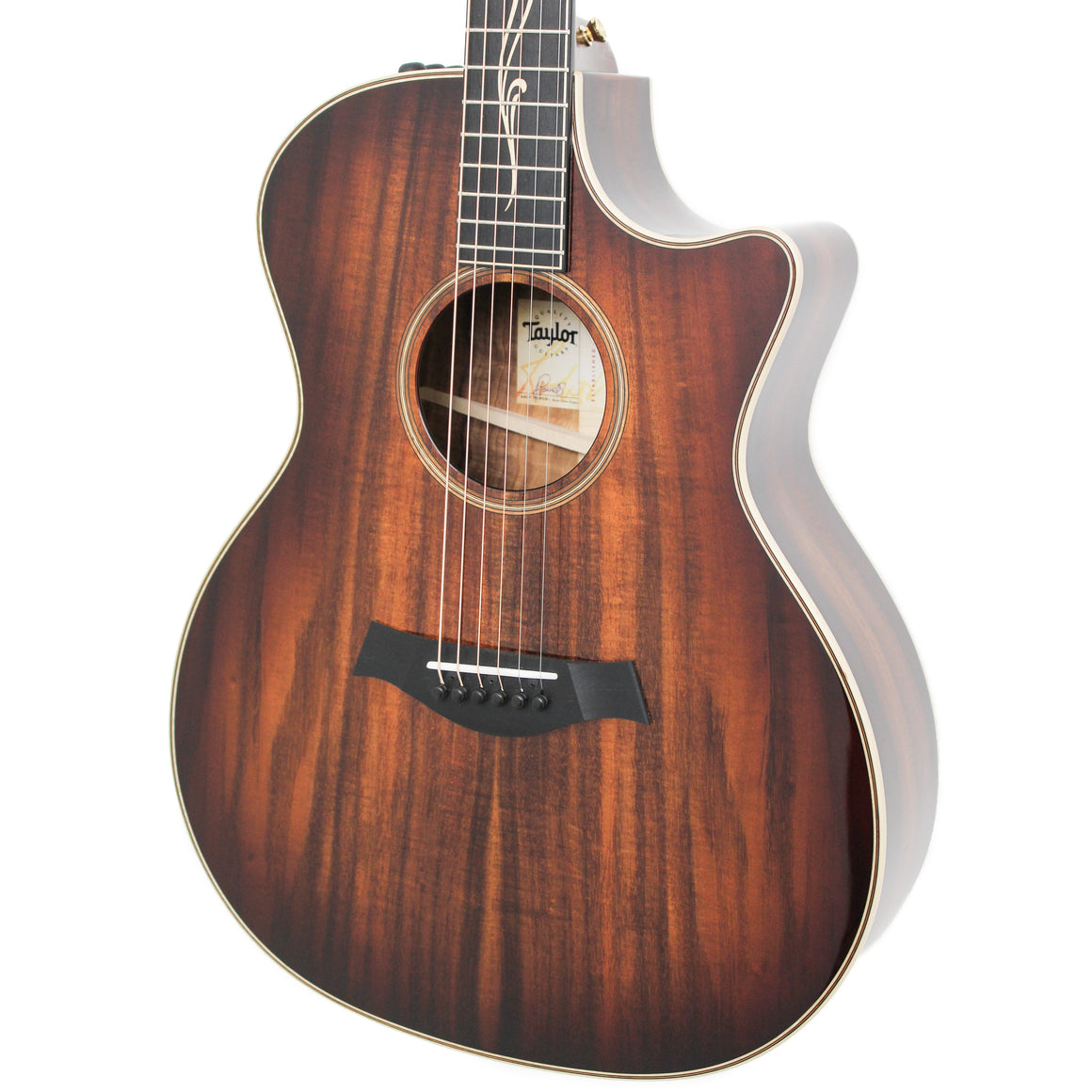Taylor K24ce 2018 V-Class Bracing Electro Acoustic Guitar with Taylor hard case