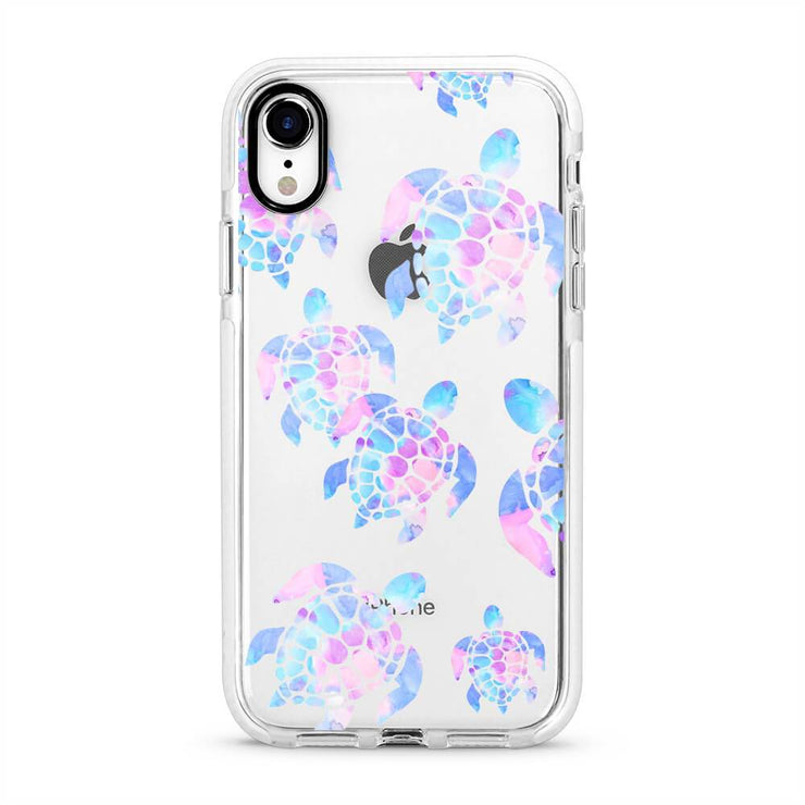 Sea Turtles - Protective White Bumper Mobile Phone Case-Minca Cases