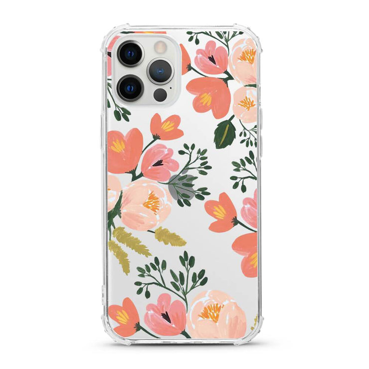 Garden Flowers - Protective Anti-Knock Mobile Phone Case
