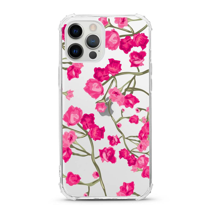 Pink Roses - Protective Anti-Knock Mobile Phone Case