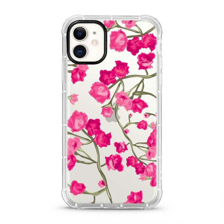 Vibrant Floral - Protective Air Cushion Mobile Phone Case-Minca Cases
