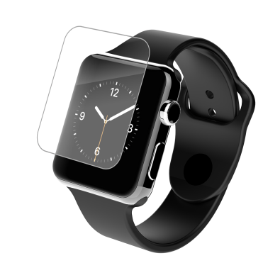 2x Transparent Full Coverage TPU Screen Protectors For Apple Watch - Minca Cases Australia