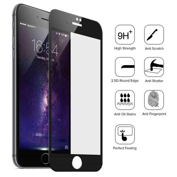 5D Full Coverage Protective Glass Screen Protector - Minca Cases Australia
