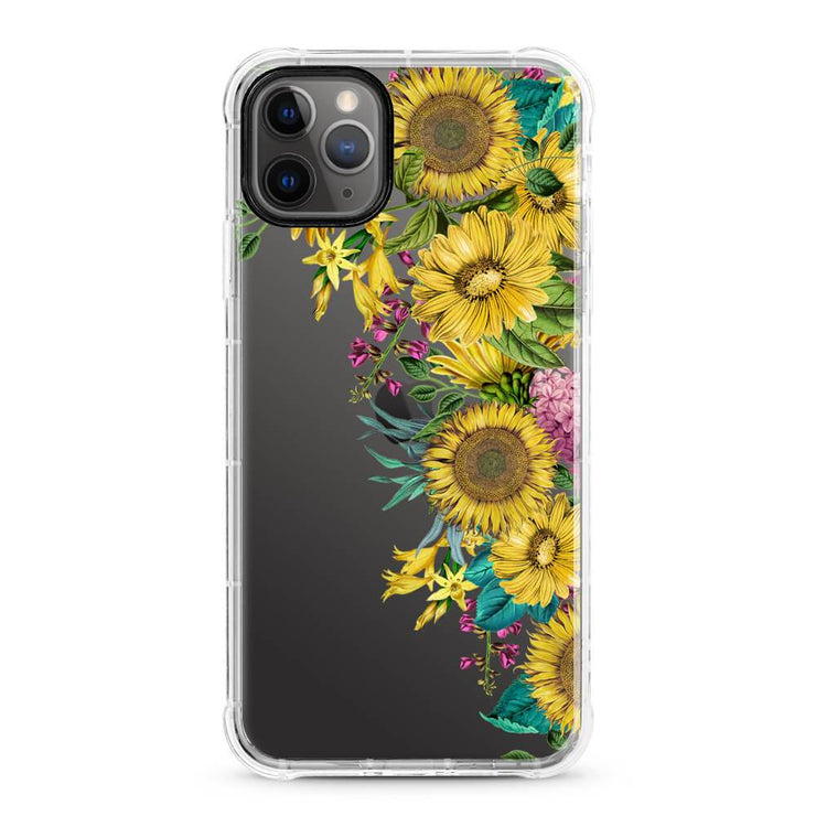 Sunflower Dream - Protective Air Cushion Mobile Phone Case-Minca Cases