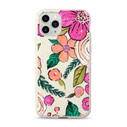 Flowers - White Printed Eco Friendly Mobile Phone Case