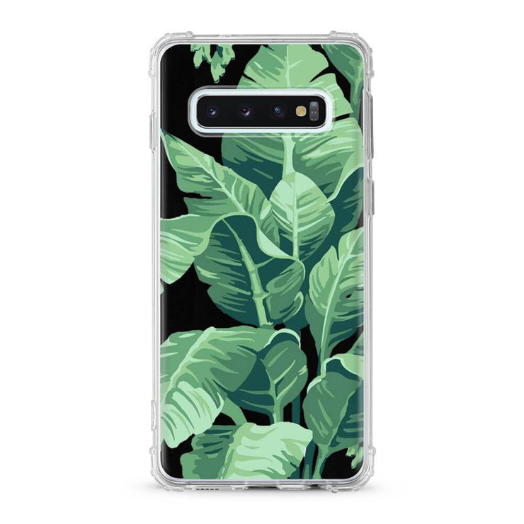 Banana Palm Leaves - Protective Air Cushion Mobile Phone Case