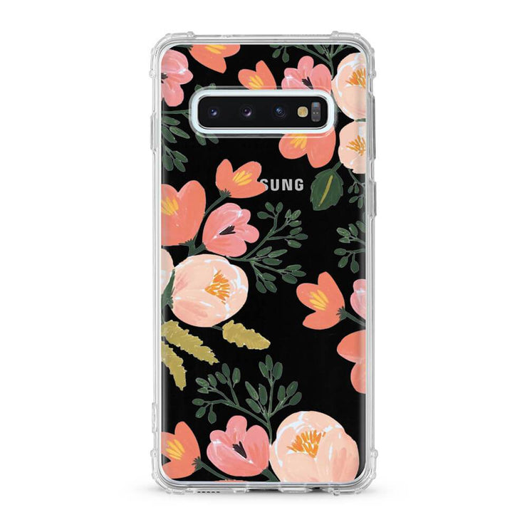 Garden Flowers - Protective Air Cushion Mobile Phone Case-Minca Cases