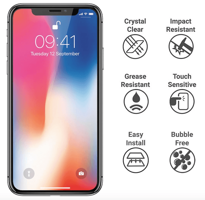 Premium Tempered Glass Screen Protector-Minca Cases